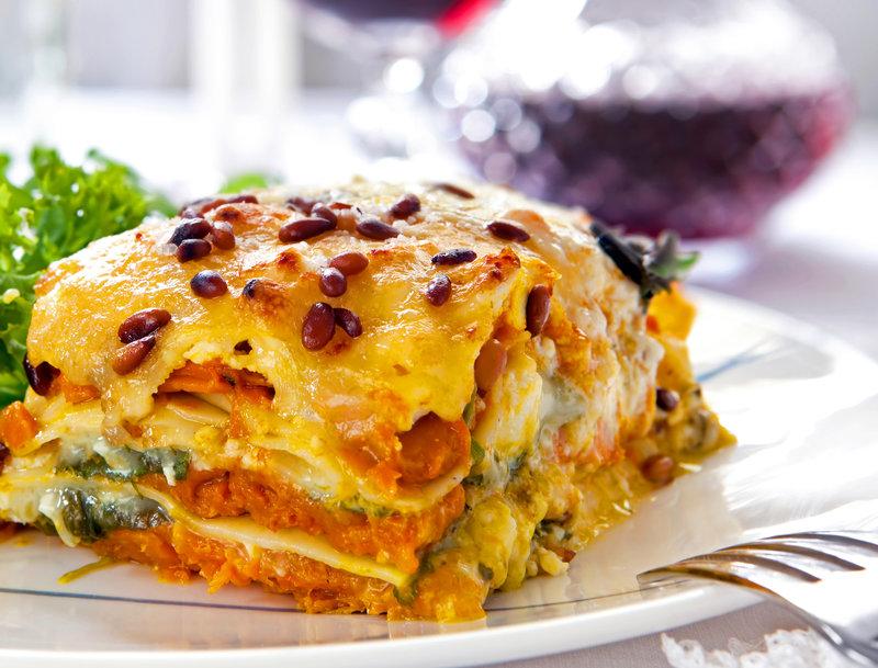 Ricetta Lasagne Di Zucca.Lasagne Con Zucca E Spinaci Ricette Vegan