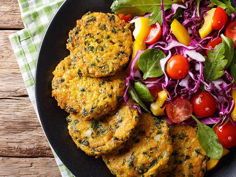 Ricette Vegetariane Quinoa.Burger Di Quinoa Spinaci E Cavolfiore Le Ricette Vegane Di Natureat