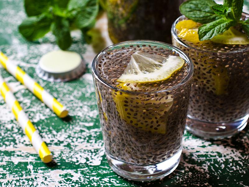 semi di chia e limone x dimagrire