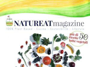 Natureat magazine rivista vegan